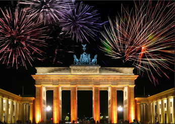 New years eve in Berlin 2013