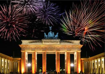 New years eve in Berlin 2013