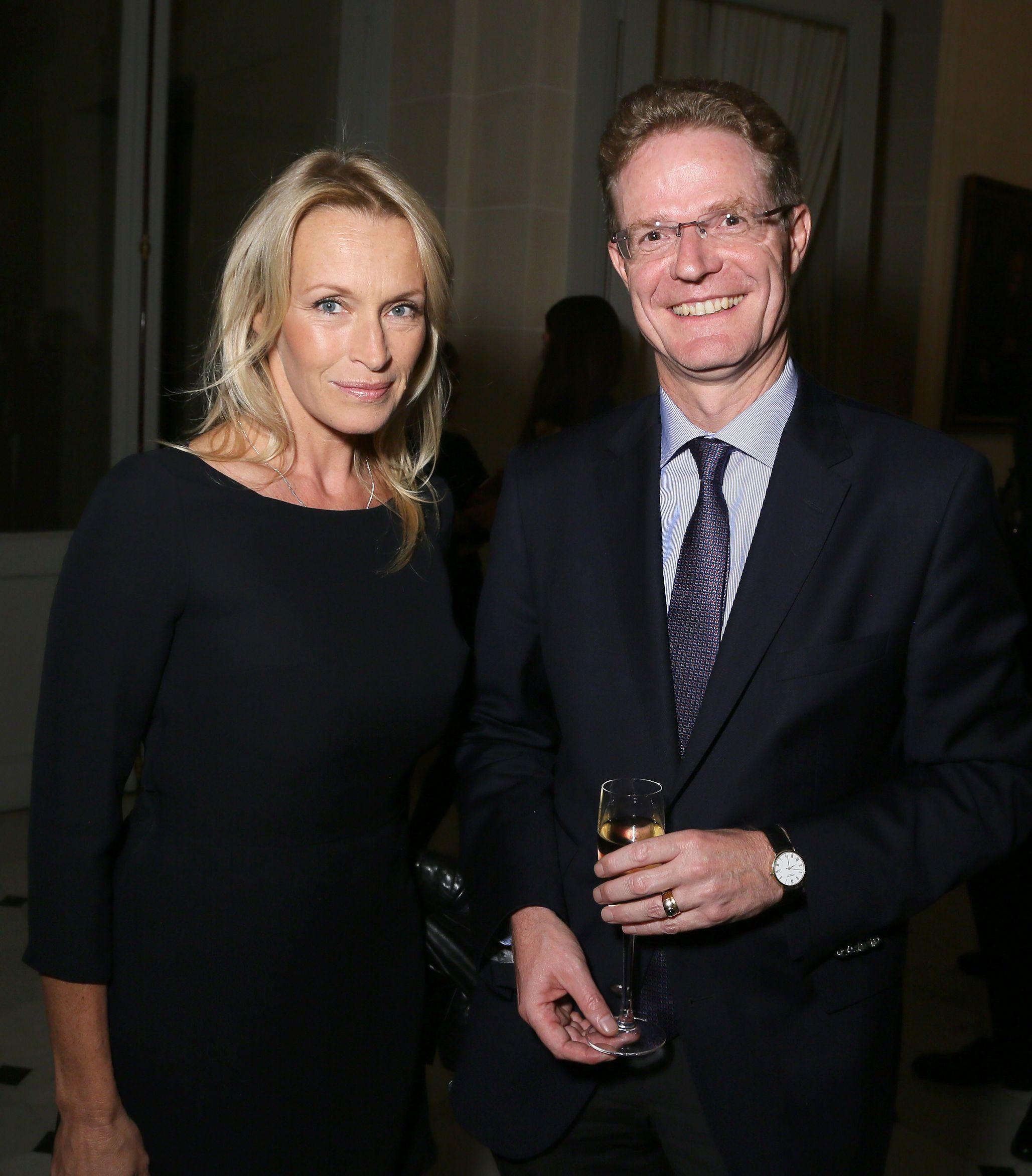 Estelle Lefebure and Nikolaus Meyer-Landrut attend Der Berliner Mode Salon