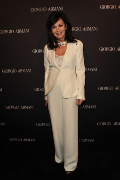 Iris Berben bei der Giorio Armani Boutique Eröffnung auf dem Berliner Kudamm am 14. Februar 2012