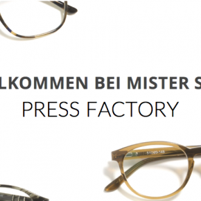 Press Factory wins Mister Spex as client!