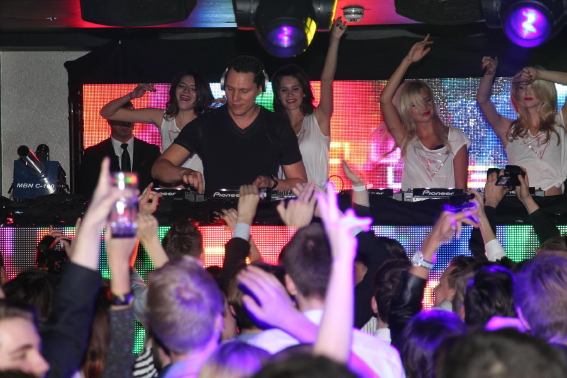 GUESS TIESTO - GUESS STORE OPENING - Party im P1 in München
